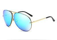 Famous Aviation Sonnenbrille Männer Art und Weise Shades Spiegel Weibliche Damen-Sonnenbrillen Brillen Kim Kardashian Oculo