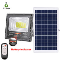 Upgraded Solar Powered Flood light 100W 200W 300W Solar Spot...
