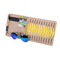 Автомобиль авто солнцезащитный козырек очки клип CD DVD карты чехол держатель для хранения Клипер диски держать организатор сумка клип