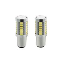 1156 BAU15S PY21W 7507 светодиодные лампы для автомобилей указатель поворота огни Янтарный / оранжевый освещение белый красный синий 5630 33SMD желтый white1P