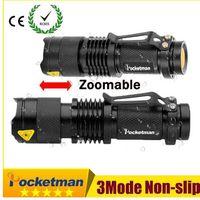 Pocketman 8000LM горячего высококачественного мини-черный водонепроницаемый светодиодный фонарик 3 режима Осветимый светодиодный факел Penlight Z95