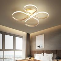 Lámparas de diseño creativo y linternas. Acryl. Iluminación del dormitorio. Lámpara de techo Led. Atenuación remota. Decoloración Le-91.