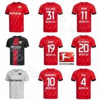 19 20 Fussball Bayer 04 Leverkusen 19 Diaby Jersey 8 Bender 20 Aranguiz 4 TAH 18 Wendell 31 Volland Havertball Hemd Kits