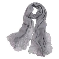 womens fashion 100% Real Mulberry silk Embroidered SCARF wrap shawl sarongs Silk Neckerchiefs 180*110cm factory sale MIXED 10pcs lot #4109