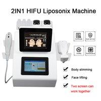 Calidad de Hight HIFU Liposonix la máquina para adelgazar masaje de cara antiarrugas de alta intensidad de ultrasonido máquina de casa Liposonix HIFU