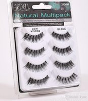 ARDELL cils 4pair / lot 100% réel de Sibérie 3D Full Strip Faux cils longs cils individuels Lashes Extension