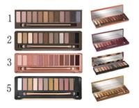 New Honey EYESHADOW palette 12 couleurs ombre 1er 2e 3e Nude Palette nk Maquillage miel palette haute qualité avec une brosse