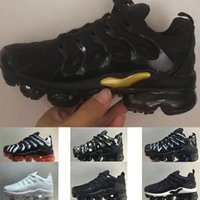 2018 wholesale tn plus Children Running shoes boy girl young...