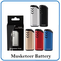 Original ECT Musketeer host vape preheating battery 650mAh v...