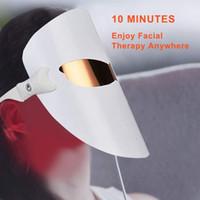 Инфракрасный свет Отбеливание красоты маска для лица Face Подъемное LED Светотерапия Face Mask Led