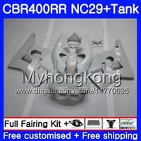 ホンダパールホワイトNC29 CBR400 RR CBR400RR 94 95 96 97 98 268HM.7 CBR 400 RR NC23 CBR 400RR 1994 1995 1997 1998 1998 1999
