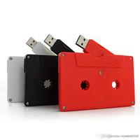 XH 브랜드 카세트 오디오 테이프 USB 3.0 Pendrive 사용자 정의 USB 플래시 드라이브 고유 스튜디오 선물