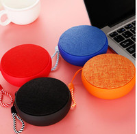 Q9 hand strap hook card mini round fabric wireless Bluetooth...