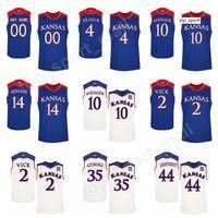 Kansas Jayhawks Kolej Formaları Basketbol Devonte Graham Udoka Azubuike Malik Newman Jersey Mitch Lightfoot Üniforma