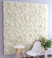 60x40cm Artificial Flower Wall Backdrop Decoration Road Lead...