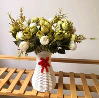 2019 Hot sale Silk flower 13 heads Rose Bud flowers Bouquet ...