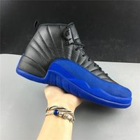 New 12 XII Game BLUE BLACK 12S LOW men basketball shoes spor...