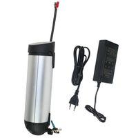 Ebike Down Tube Bateria litowo-jonowa 36 V 10Ah Bateria do butelki do rowerów elektrycznych 250W 350W E Zestaw do konwersji rowerowej z bezpłatną ładowarką i BMS