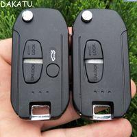 2/3 Кнопки Флип Пульт Дистанционного Ключа Автомобиля Shell Левое / Правое Лезвие Для Mitsubishi Lancer Evo Colt Outlander Mirage Remote Fob