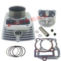 Moteur Pièces de rechange Moto Cylindre Kit 67mm pin 16mm pour Zongshen CG250 CG 250 refroidi par Air ATV Dirt Bike hors route