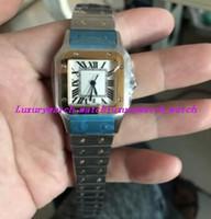 Montre unisexe Montre-bracelet Moyen W2SA0007 35mm Automatique Cadran blanc Bracelet en acier inoxydable Montre Luxe Livraison gratuite