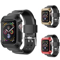 Silicone Strap for Apple Watch 4 Protector TPU Plating Case ...