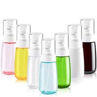 30ml 60ml 80ml 100ml nachfüllbare Duftstoff-Spray-Flasche leeren tragbare Reise-Flaschen kosmetische Behälter aus Kunststoff Atomizer
