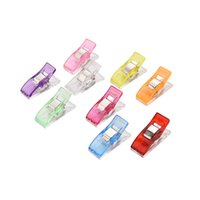 Sewing Positioning Clip Plastic Clips Holder for DIY Patchwork Fabric Quilting Craft Sewing Knitting