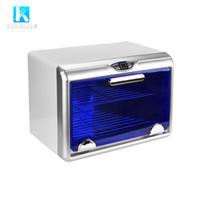 Pro Nail Art Aracı Sterilizasyon LED UV Sterilizatör Kabine Dezenfeksiyon Ozon 8 W UVC Işık ile Salon için Küçük Araçlar Dezenfekte