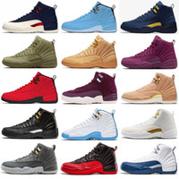 New Jumpman 12s Winterized WNTR Gym Red Michigan Mens Basket...