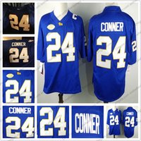 2019 Pittsburgh Panthers Pitt  24 James Conner 8 Pickett Royal Blue ... 993fd655e
