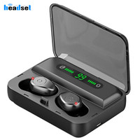 F9- 5 TWS Wireless Bluetooth 5. 0 Earphones game in- ear Earbud...