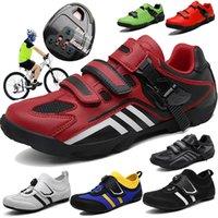 أحذية CUNGEL دراجات الحرارة قابل للتشكيل 3K من ألياف الكربون الدراجة الطريق احذية الإبزيم أو الذاتي قفل 1/2 الحذاء الحراري دراجات