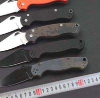 NO Spider C81 Folding Knife 5CR13mov Blade G10 Handle pocket...