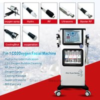 New 7 In 1 Oxygen Water Facial Machine CO2 Bubble Facial Cle...