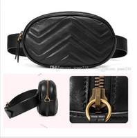 20New por mayor Moda PU cuero a estrenar empaqueta los bolsos del diseñador de las mujeres famosas de la cintura paquetes de Fanny bolso de los bolsos de señora correa del pecho del bolso de colores negros