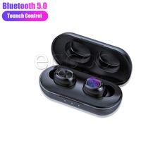 Двойной ухо TWS Близнецы Беспроводной Bluetooth наушники с зарядным док-станцией стерео Спорт Наушники Наушники для Andriod