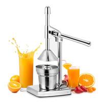 오렌지 과즙 수동 주스 착취 스테인레스 스틸 감귤류를 눌러 도구 레몬 라임 믹서기 주방 과일 기계 T200327을 누르면