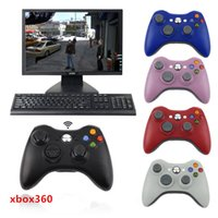 Hot Bluetooth Wireless Controller Gamepad Precise Thumb Joystick Gamepad für Xbox360 / PC für Microsoft X-Box-Controller mit Kleinverpackung