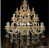 Modern Luxury European Hotel Chandelier E14 LED Lamparas Ret...