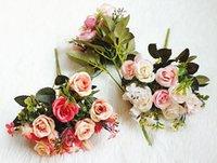 Kleine Royal Princess Rose SH3 Simulierte Blume, Dekoration, Ehe Fotografie Projekte 20pcs / lot WL504