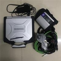 MB ستار C4 SD اتصال SD C4 مع الكمبيوتر المحمول CF30 (4G) تشخيص ToughtBook Soft-Ware SSD 2021.03V DAS / X / DTS ل MB سيارات شاحنات