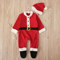 عيد الميلاد Roupa بيبي الملابس السروال القصير للجنسين ملابس الرضع بوي بذلة ملابس الخريف الربيع رهيبة Playsuit لحديثي الولادة آر الجديدة