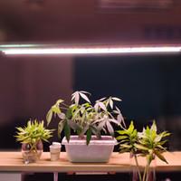 LED Işıkları Büyümek T5 HO Tüp Şerit Çubuğu Tam Spektrum Entegre Büyüyen Lamba Armatürleri, Takın, Takın, Ek / Kapalı Çekme Zinciri Dahil