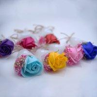 결혼식 꽃 비누 장미 꽃 목욕 바디 꽃 로맨틱 목욕 비누 꽃잎 웨딩 장식 선물