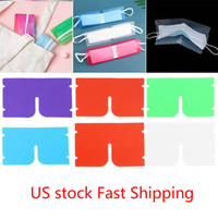 US Stock DHL Ship Portable face mask storage Clip Plastic Mi...