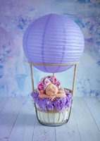 Creative balloon props for newborn photography to decorate c...