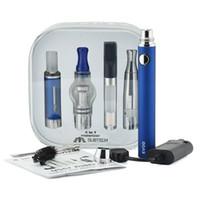 Evod Batterie-Verdampfer 4 in 1-Starter-Kits Vape-Stift-Trockenkräuter-Verdampfer-DAB-Stift-Wachs-Öl Zerstäuber Kräuter-Verdampfer-DHL-freies Verschiffen