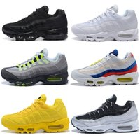 NIKE AIR max 95 Olive OG XR1 Zapatillas Running Mastermind Japan Skull Fall verde Camo Glitch Negro Blanco Blue cebra Pack men Zapatillas deportivas 36-45