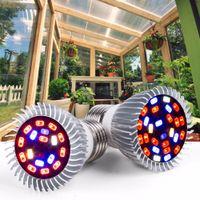 Ampüller Tam Spektrum Phyto Büyümek Lambaları E27 Bitki Işık E14 Bitkiler Için LED UV IR Fitolampi Sera Çadır Ampul LED008